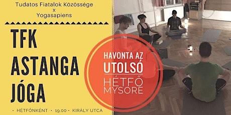 TFK Astanga Jóga - VEZETETT/MYSORE tickets