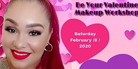 Be Your Valentine Makeup Workshop  entradas
