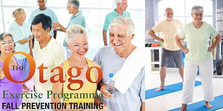 Otago exercise programme to prevent falls and help with bone and joint pain in elderly tickets