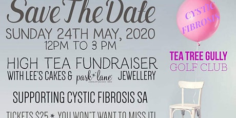 Cystic Fibrosis Fundraiser / Park Lane Jewellery High Tea tickets