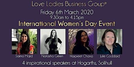 #LoveBiz International Women's Day Event - West Midlands tickets