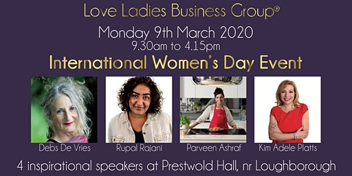 #LoveBiz International Women's Day Event - East Midlands