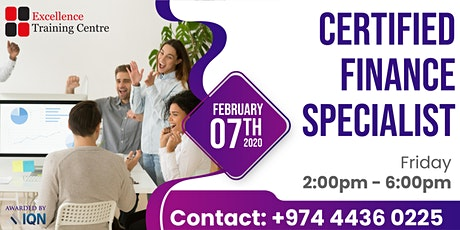 Certified Finance Specialist Course tickets