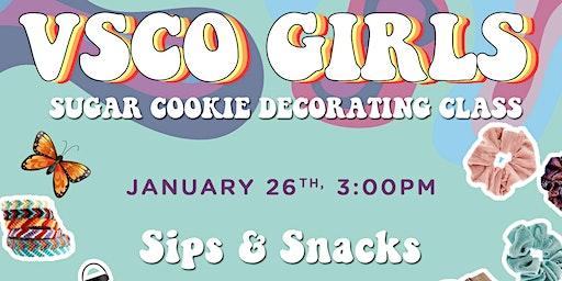 VSCO Cookie Decorating Class