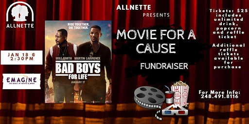 Movies For A Cause with Allnette