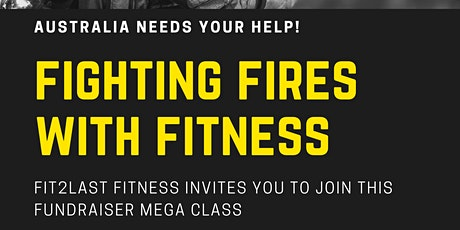 Fighting Fires with Fitness - Fundraiser Zumba Mega Class tickets