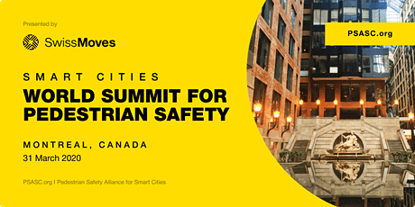 2020 World Summit for Pedestrian Safety tickets