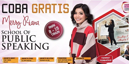 Merry Riana Public Speaking Hadir di Surabaya untuk Anak Anda