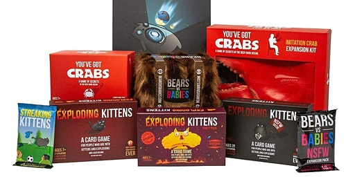 Exploding Kittens and other games by The Oatmeal