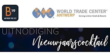 WTC Antwerp & B19 Nieuwjaarscocktail tickets
