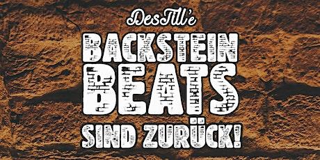 Backstein Beats Tickets