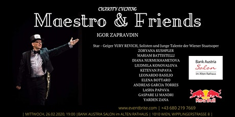 Maestro & Friends Tickets