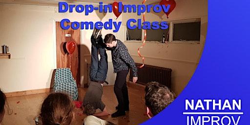 the Canterbury Improv: Drop-in Improv Comedy Taster Class