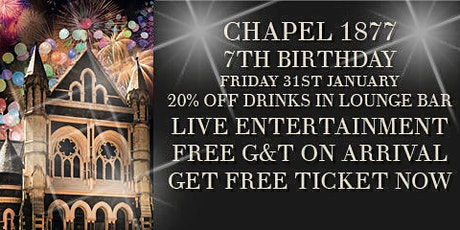 CHAPEL`S 7TH BIRTHDAY tickets