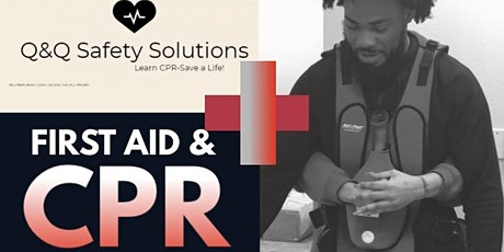 American Red Cross CPR/ Frist Aid/AED Training tickets
