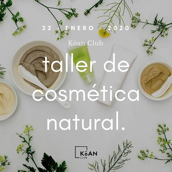 Imagen de Taller de cosmética natural