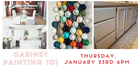 Cabinet Painting 101 with Fusion Mineral Paint  tickets
