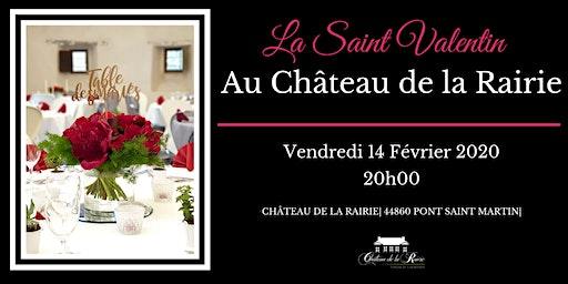 """Dîner """"Saint Valentin"""" au Château de la Rairie"""