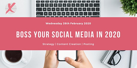 Boss Your Social Media in 2020 tickets