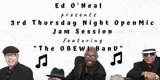 "CONYERS -  LIVE ""BLUES"" & ""DRUM CIRCLE"" Jam Session w The OBEWI Band & Dr. UMZ"