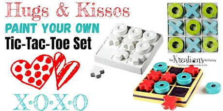Paint a TIC-TAC-TOE Set tickets