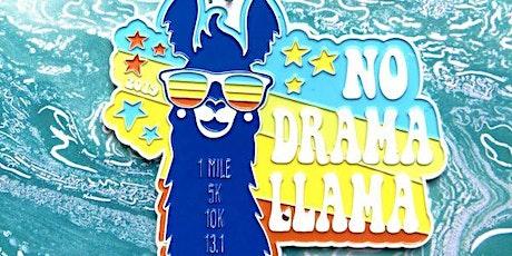 Only $12! No Drama Llama 1M, 5K, 10K, 13.1, 26.2 - Tulsa tickets