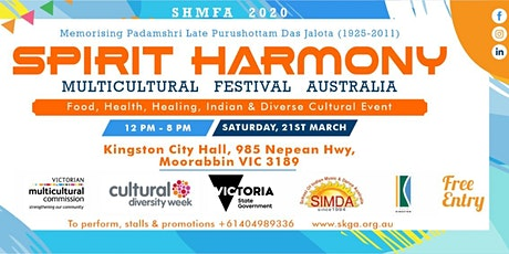 2020 Spirit Harmony Multicultural Festival tickets