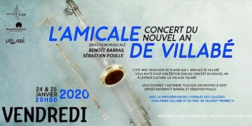 Concert Nouvel an 2020 -VENDREDI-