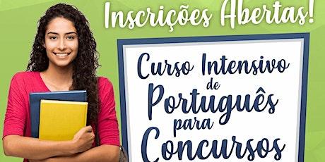 CURSO INTENSIVO DE PORTUGUÊS PARA CONCURSOS ingressos