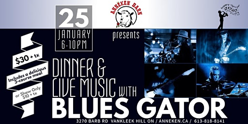 Live Music with BLUES GATOR