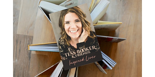 Tess Booker Inspired Lives Book Signing