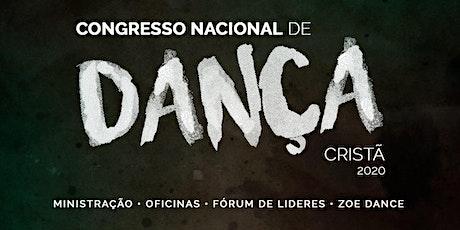 Congresso Nacional de Dança Cristã - 2020 - Praise Cia. de Dança ingressos