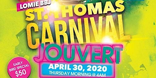 BBJJouvert  St. Thomas CARNIVAL 2020