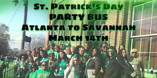 St. Patrick's Day 2020 to Savannah From Atlanta