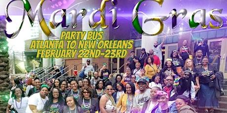 Mardi Gras Litt Party Bus from Atlanta to New Orleans tickets