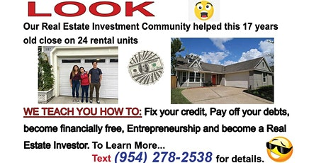 Real Estate Investing and Entrepreneurship EPIC  Training tickets