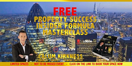 FREE Property Success Insider Masterclass tickets