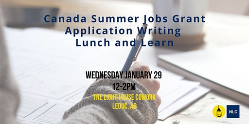 Grant Application Writing Workshop: Summer Job Grant