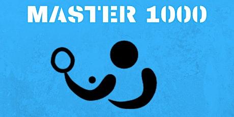 Master 1000- Torneo de ping pong entradas
