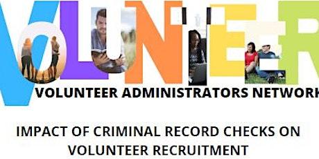 Inaugural Meeting of the Volunteer Administrators Network tickets