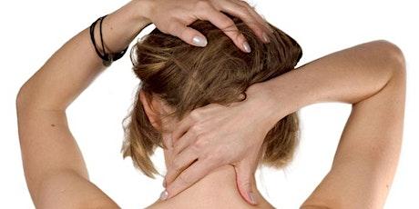 Corso di massaggio muscolare distensivo  per i comuni disturbi alla schiena tickets