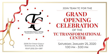TC Transformational Center Open House tickets