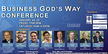Business God's Way tickets