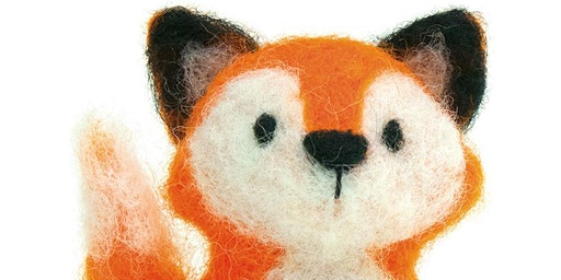 Needle-felting: Fox