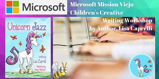 Microsoft Office and Unicorn Jazz Children's Writing Workshop by Children's Book Author Lisa Caprelli