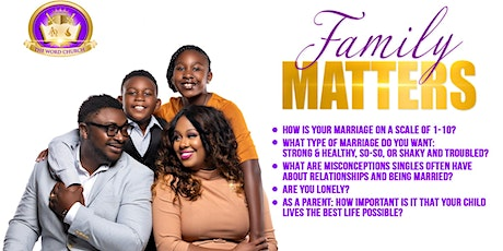 Empowering Singles & Married Couples To Build Rock Solid Lives tickets