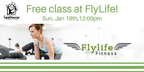 Free class at FlyLife Fitness tickets