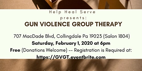Gun Violence Group Therapy tickets
