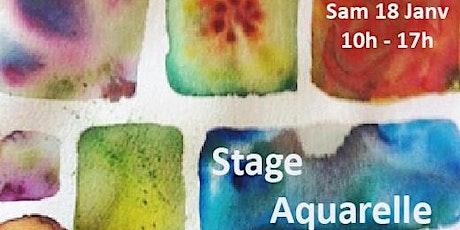 Stage Aquarelle billets