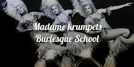 Burlesque beginners tickets